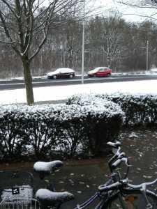 Schnee in Mitteldeutschland