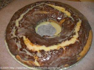 Flacher Marmorkuchen