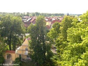 Blick vom Burgturm über Lenzen