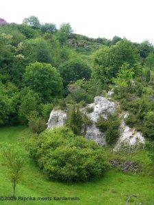 """Naturschutzgebiet """"Hielöcher"""" - Zerklüftete Karstlandschaft mit orchideenreichen Trockenrasen"""