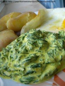 Orientalisch angehauchter Spinat mit Joghurt